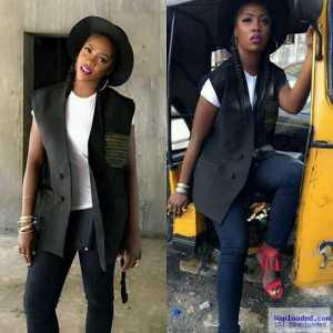 Photo: Singer Tiwa Savage Poses In Keke